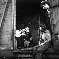 hobo on a train 3