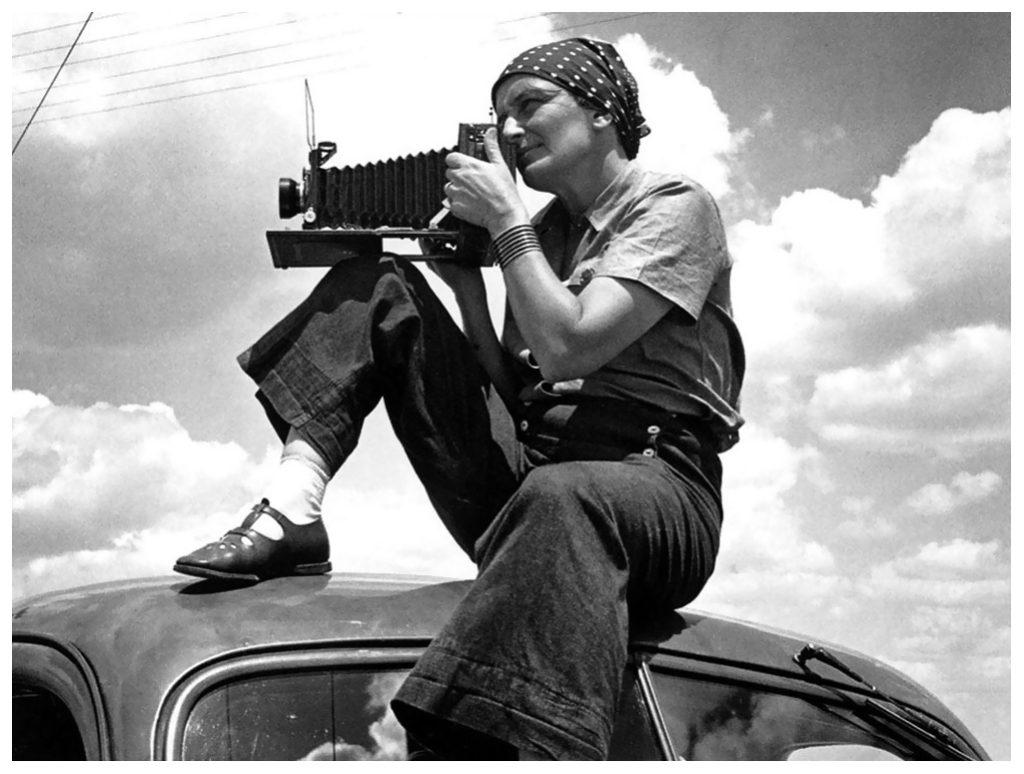 Dorothea Lange by Paul S. Taylor 1934