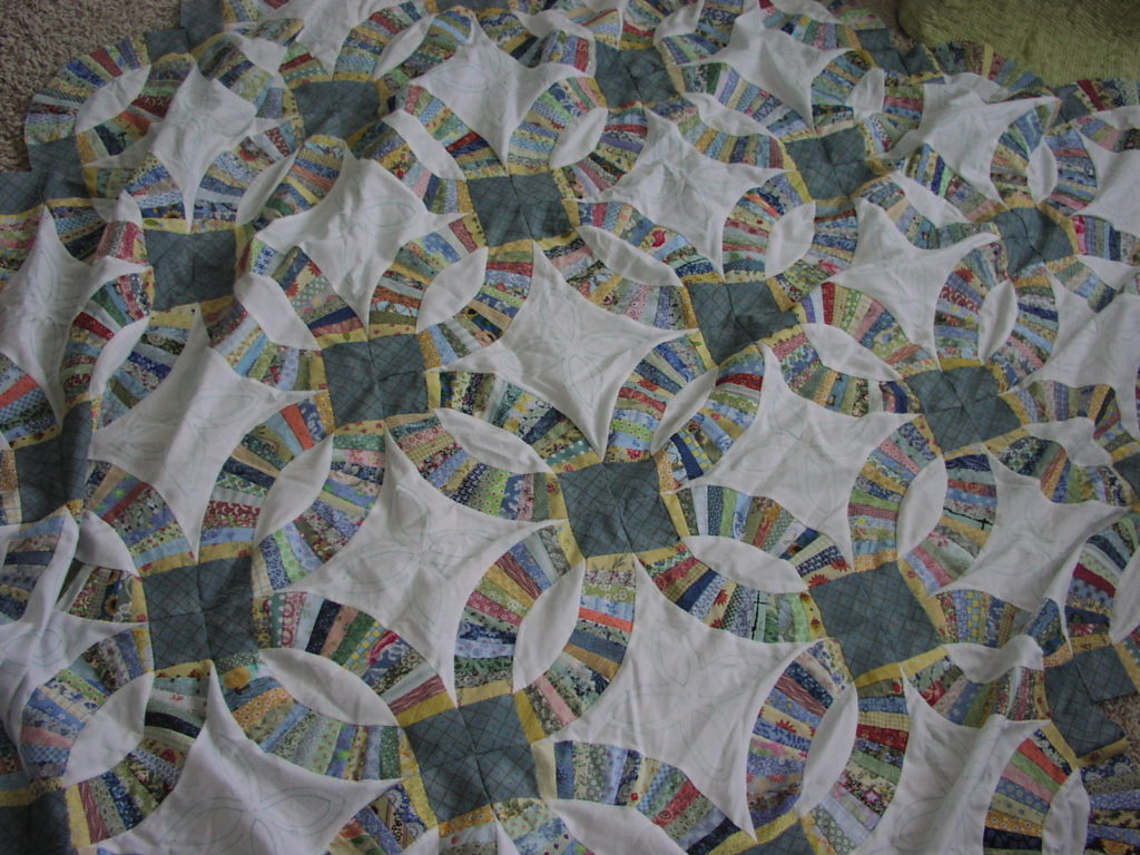 Irish Patchwork: Piecing Frugality and Necessity Cleo Lampos