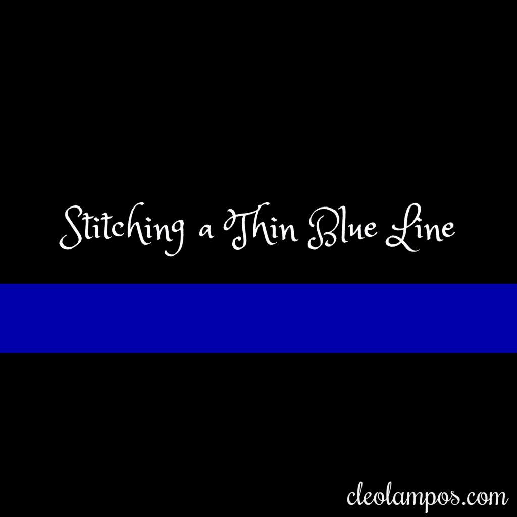 think blue line